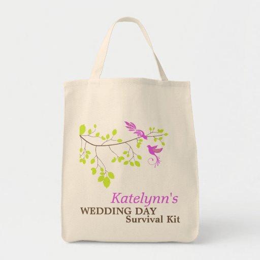 Violet Romance Wedding Day Survival Kit Bag