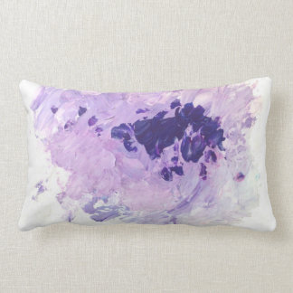 Violet Splash Cushion