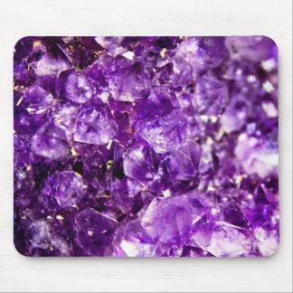 Violet Stone design Mouse Pad