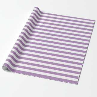 Violet Stripes Wrapping Paper