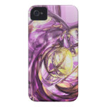 Violet Summer Abstract iPhone 4 Case