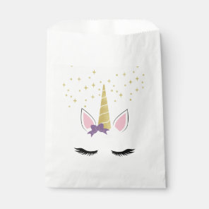 Violet the Unicorn Favour Bag