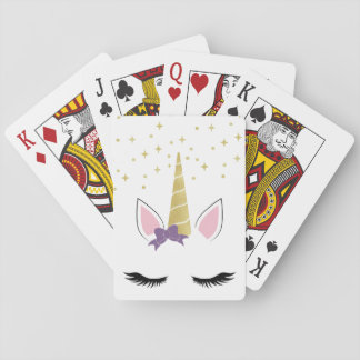 Violet the Unicorn Playing Cards