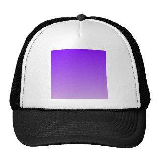 Violet to Wisteria Horizontal Gradient Mesh Hat