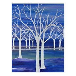 Violet Trees Postcard