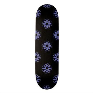 Violet Tulip Flower 7 Skateboard
