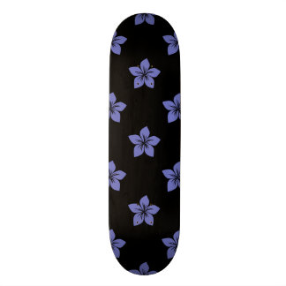 Violet Tulip Flower 9 Skate Board