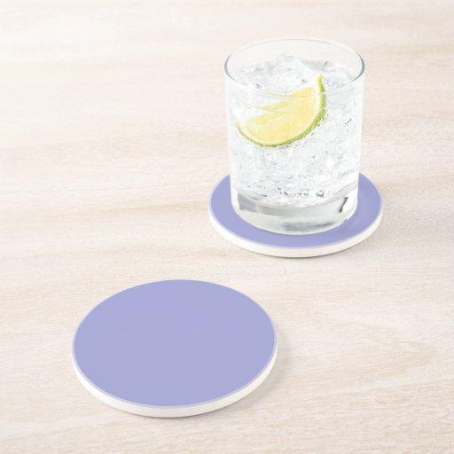 Violet Tulip Polka Dot 2 Drink Coasters