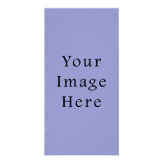 Violet Tulip Purple Color Trend Blank Template Custom Photo Card