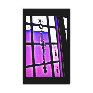Violet View Canvas Print