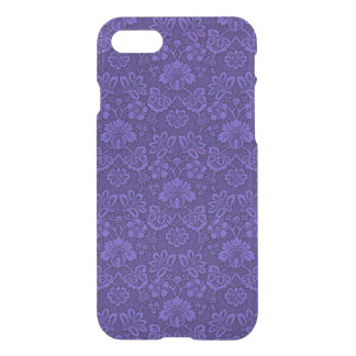 Violet Vintage Damask iPhone 8/7 Case
