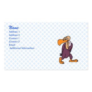 Violet Vulture Pack Of Standard Business Cards