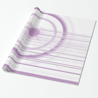 violet wrapping paper