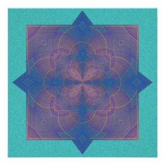 Violeta Kaleidoscope Mandala Invite