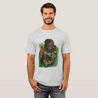 Violets and Gas Mask T-Shirt