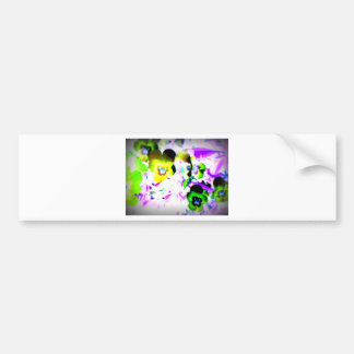 Violets Bumper Sticker