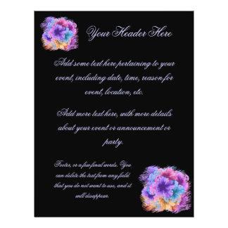 Violets Gone Wild 21.5 Cm X 28 Cm Flyer