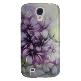 Violets hard shell case galaxy s4 case