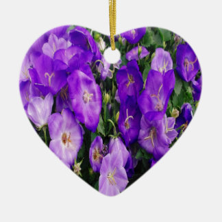 Violets in Bloom Christmas Ornament