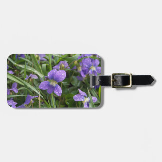 Violets Luggage Tag
