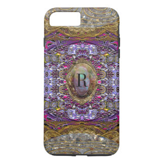 Violets Monogram Pretty Baylphine iPhone 8 Plus/7 Plus Case