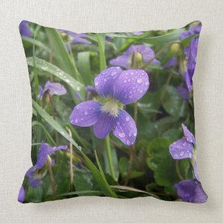 Violets Pillow