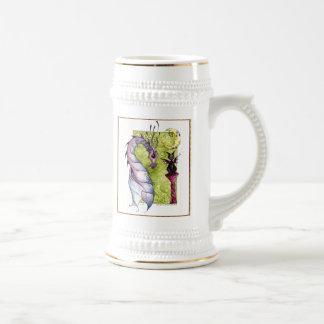 Violette and Obsidian Mug
