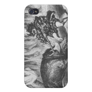 Violette and Ourson iPhone 4 Cover