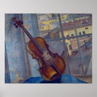 Violin, 1918 poster