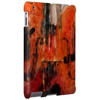 Violin Abstract iPad Case