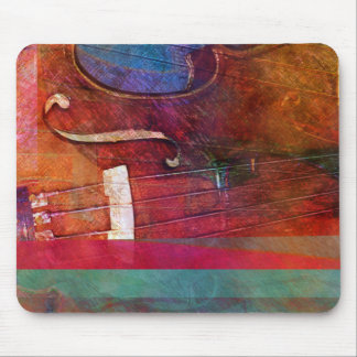 Violin Abstract One Mouse Mat