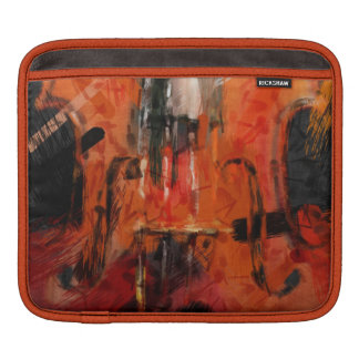 Violin Abstract Sleeves For iPads