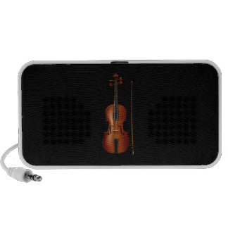 VIolin and bow realistic graphic iPhone Speaker