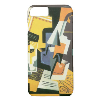 Violin and Glass by Juan Gris, Vintage Cubism iPhone 7 Case