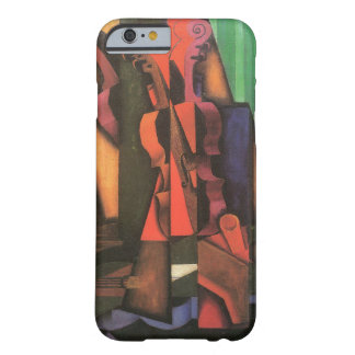 Violin and Guitar by Juan Gris, Vintage Cubism Barely There iPhone 6 Case