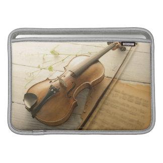 Violin and Sheet Music MacBook Air Sleeve