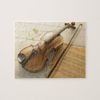 Violin and Sheet Music Puzzles