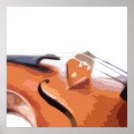 Violin Art Poster