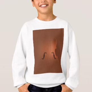 Violin art sweatshirt