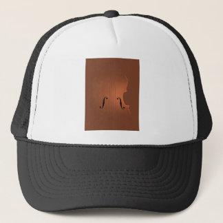 Violin art trucker hat