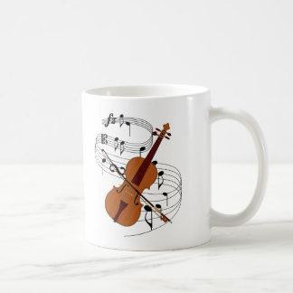 Violin Basic White Mug