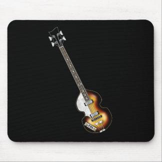 Violin Bass Guitar Mouse Mat
