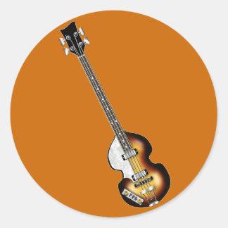 Violin Bass Guitar Stickers