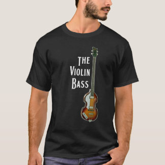 Violin Bass t-shirt