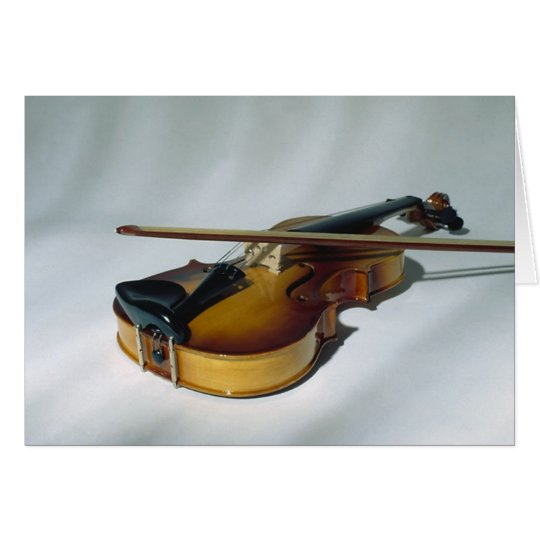 Violin Blank Note Cards
