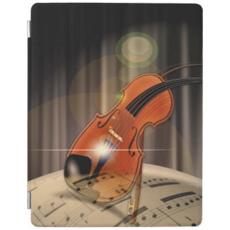 Violin Bokeh Art Design iPad Cover