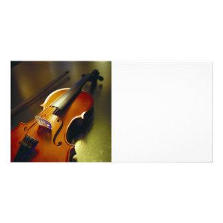 Violin Bow Close-Up 2 Photo Card