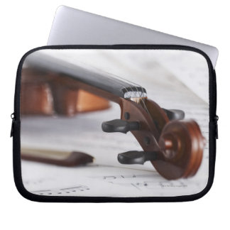 Violin Bow Laptop Sleeve