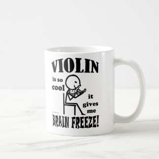 Violin, Brain Freeze Coffee Mug