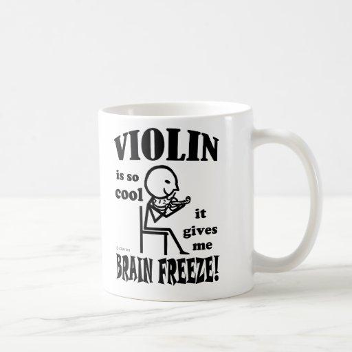 Violin, Brain Freeze Mug